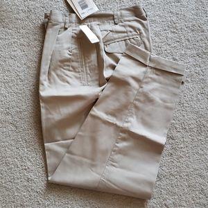NWT Liz Claiborne LizSport Petite Khaki Pants